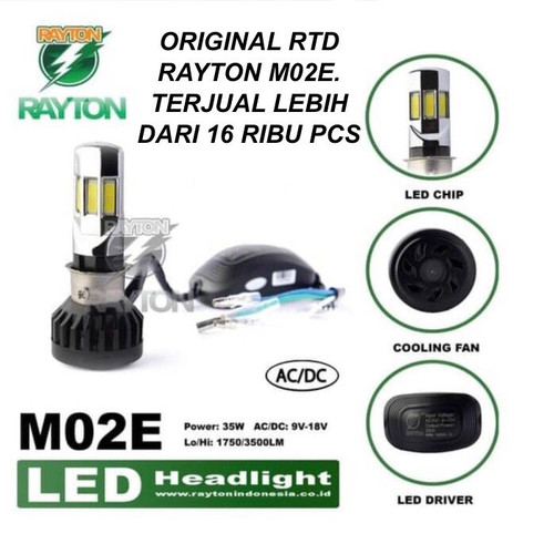 Foto Produk lampu led motor 6 sisi RTD dari supplier led