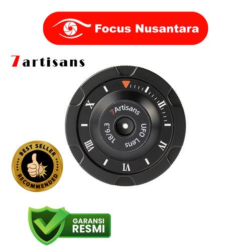 Foto Produk 7ARTISANS 18mm f/6.3 for Micro 4/3 Black dari Focus Nusantara