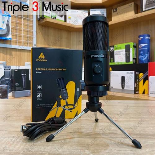 Foto Produk MAONO AU PM461TR mic condenser usb Mic Gamers Mic Youtuber dari triple3music