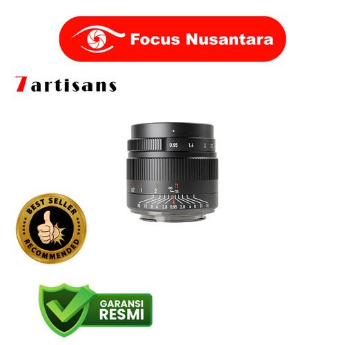 Foto Produk 7ARTISANS 35mm f/0.95 for Eos M Black dari Focus Nusantara