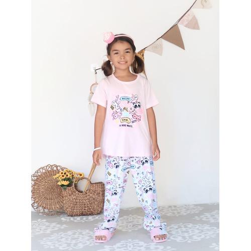 Foto Produk Piyama Anak Short Shirts Sleep All Day SSLP62 - 4 dari Boboo Kids