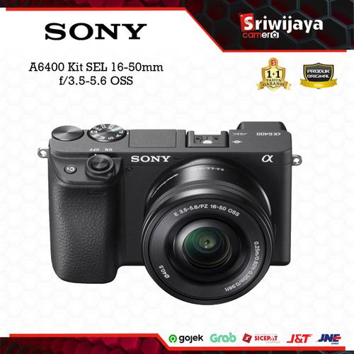 Foto Produk Camera SONY A6400 Kit SEL 16-50 f/3.5-5.6 OSS dari Sriwijaya Camera Denpasar