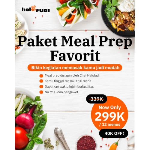 Foto Produk Paket Meal Prep Favorit - S dari Halofudi