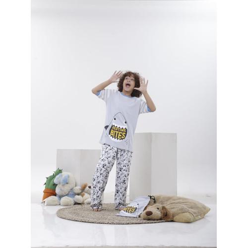 Foto Produk Piyama Anak Short Shirts Bedtime Bites SSLP70 - 10 dari Boboo Kids