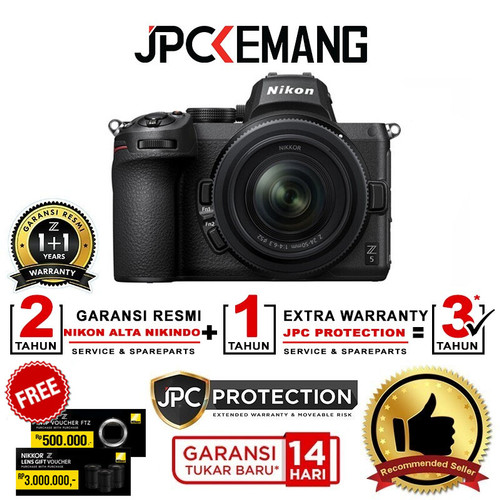 Foto Produk Nikon Z5 Nikon Z 5 kit 24-50mm f4-6.3 Kamera Mirrorless GARANSI RESMI dari JPCKemang