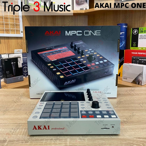Foto Produk Akai MPC One Stand Alone MIDI Controller USB dari triple3music