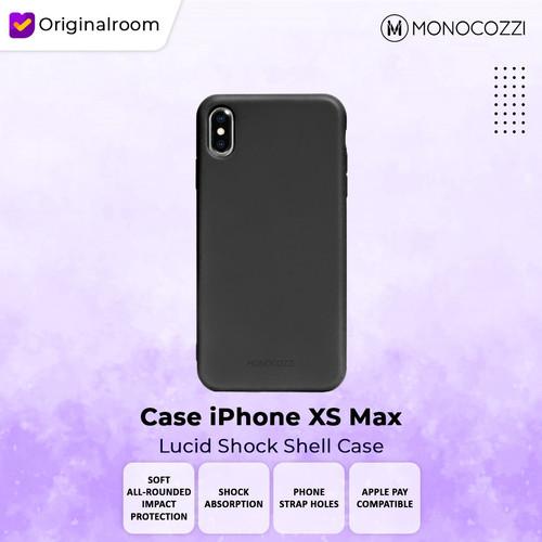 Foto Produk Monocozzi Case iPhone XS Max - Lucid Shock - Hitam dari Originalroom