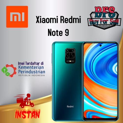 Foto Produk XIAOMI REDMI NOTE 9 RAM 4/64GB 6/128GB - GARANSI RESMI - green, 4GB 64GB dari BuyForSell