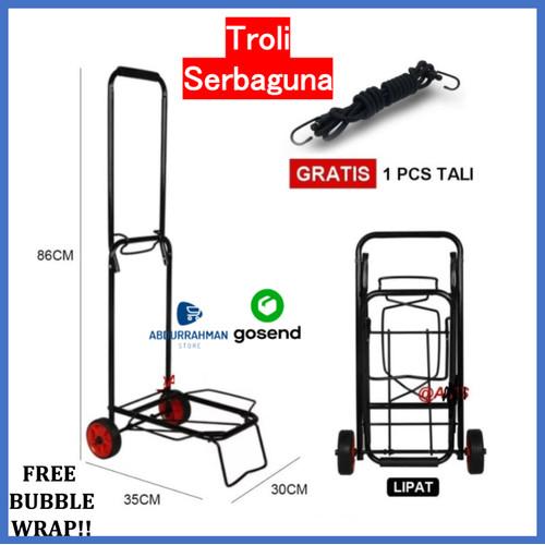 Foto Produk Troli Alat Angkut Barang Galon Gas Kardus Tabung Oksigen Lipat Trolley dari Abdurrahman Store