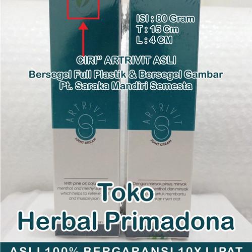 Foto Produk Artrivit Asli Cream Obat Sendi Herbal BPOM dari Herbal Primadona