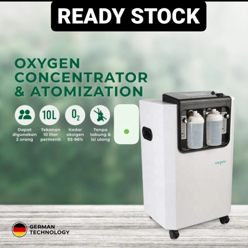 Foto Produk Owgels Okygen concentrator 10L terknologi german dari Coolpad Health