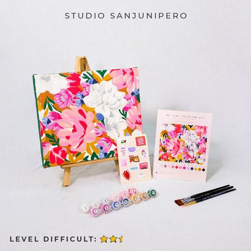 Foto Produk Spring Blossom painting by number Studio Sanjunipero - painting only dari Studio sanjunipero