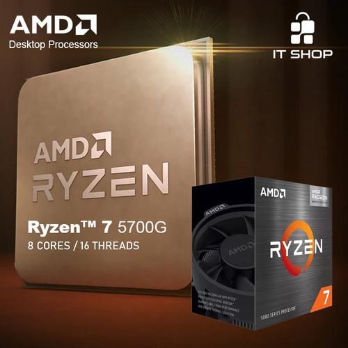 Foto Produk Processor AMD AM4 Ryzen 5 5700G Wraith Cooler dari IT-SHOP-ONLINE