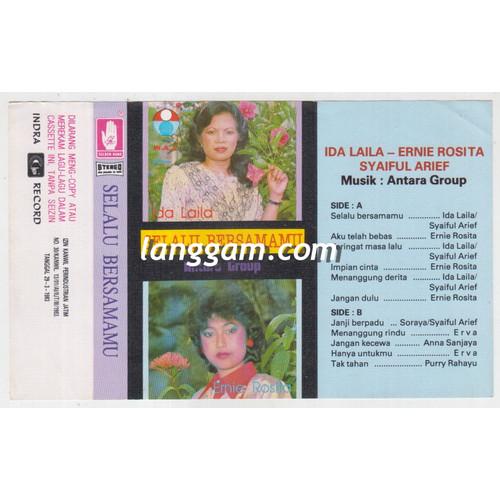 Foto Produk COVER SAMPUL KASET IDA LAILA ERNIE ROSITA - SELALU BERSAMAMU dari Langgam