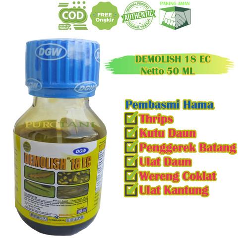 Foto Produk Insektisida Abamektin Demolish 16 EC Abamectin 18 g l 50ML dari Purotani.ID