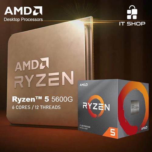Foto Produk Processor AMD AM4 Ryzen 5 5600G Box dari IT-SHOP-ONLINE