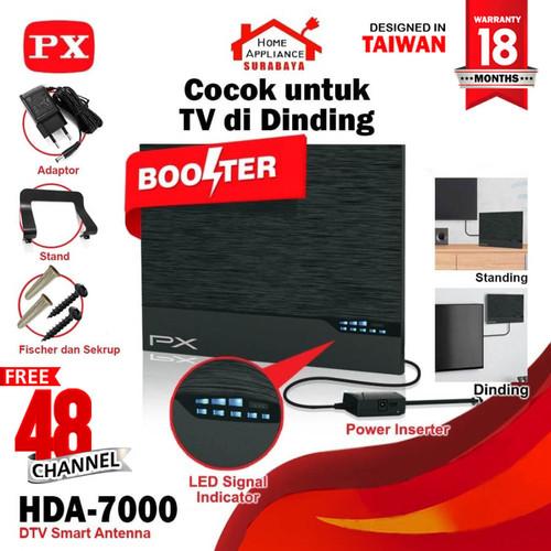 Foto Produk Antena Antenna TV PX Smart Digital Analog LED BAR HDA-7000 HDA7000 dari Home Appliance Surabaya