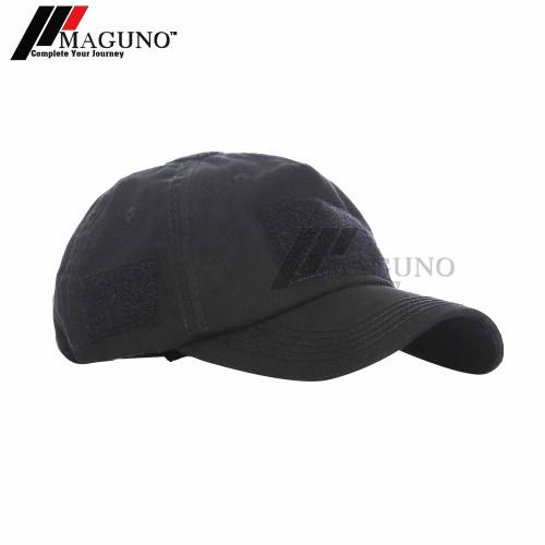 Foto Produk Maguno™ Styre Tactical Cap Topi Tactical Velcro Baseball Cap Army - Adv. Black dari MAGUNO