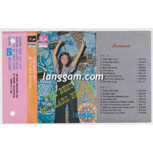 Foto Produk COVER SAMPUL KASET ERVINNA - THE BEST OF 20 YEARS BEFORE dari Langgam