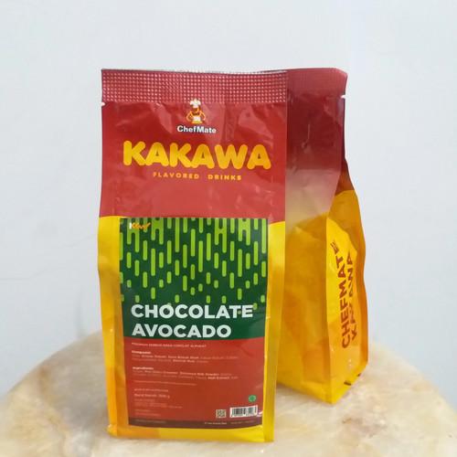 Foto Produk Kakawa Chocolate Avocado drink 500 gram Chefmate minuman kekinian dari agungjayaonline