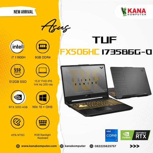 Foto Produk ASUS TUF F15 FX506HC-I735B6G-O Intel Core i7 11800H-RTX 3050-8GB-512GB dari kanakomputer