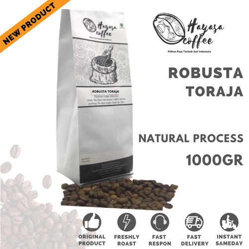 Foto Produk Kopi Hayasa Toraja Robusta - 1Kg - Biji dari Hayasa Coffee