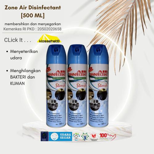 Foto Produk ZONE AIR DISINFECTANT 500ML - ORIGINAL ORIGINAL - bubble gum dari kiossehat8