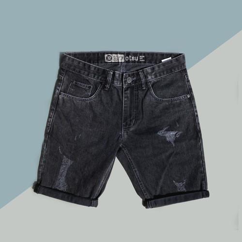 Foto Produk Otsu Graphite Short - Celana Pendek Jeans Slimfit Pria - 30 dari Otsu Denim