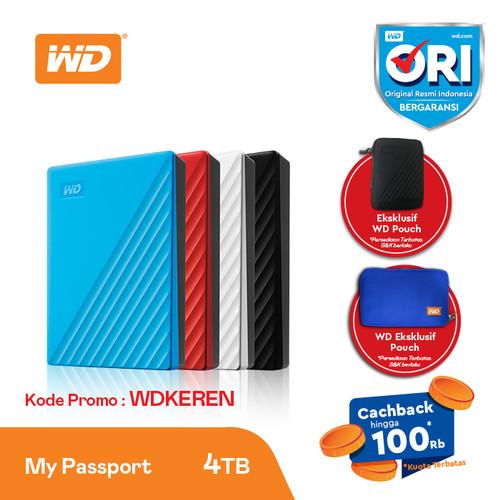 Foto Produk HDD External WD My Passport 4TB USB 3.2 - Hard Disk Eksternal Portable dari RETAIL SOLUTION BEC