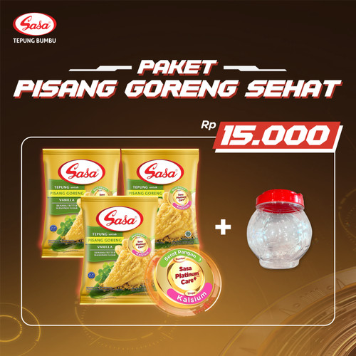 Foto Produk SASA Paket Pisang Goreng Sehat dari Sasa Official Store