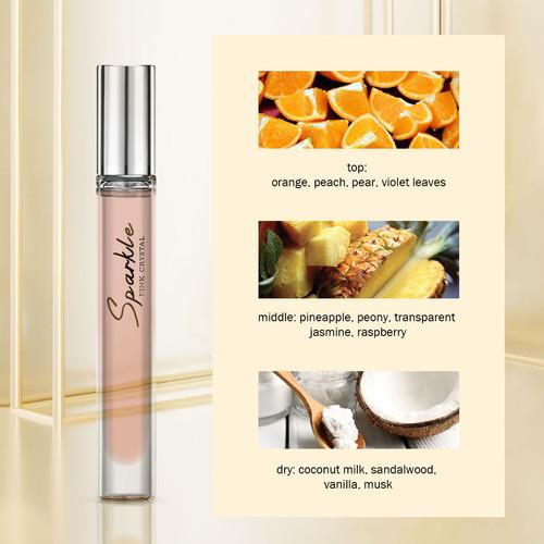 Foto Produk MINISO Parfum Wanita EDT Cologne Mini Perfume Saku Bersinar - Merah Muda dari Miniso Indonesia