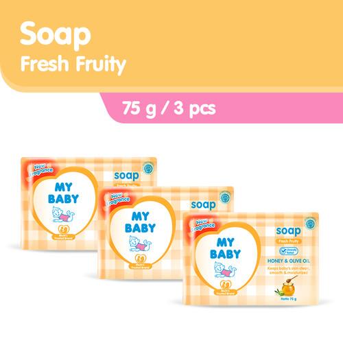 Foto Produk My Baby Bar Soap Fresh Fruity 75gr dari Tempo Store Official