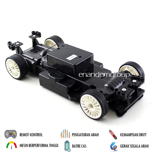 Foto Produk Mainan Mobil Remot Kontrol RC Drift Super Turbo - Dark Black dari Mafemale