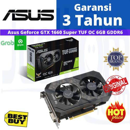 Foto Produk ASUS TUF Gaming GTX 1660 SUPER OC 6GB 6 GB GDDR6 GeForce GTX1660 Super dari Karya Megah Computers
