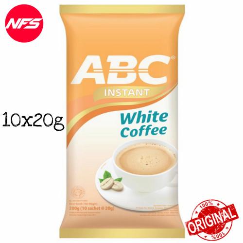 Foto Produk ABC Kopi Bag 10 Sachet-Mix/Susu/White/Instant-Coffee Pack 5-20 Renceng - WHT INSTANT10's dari NF*S
