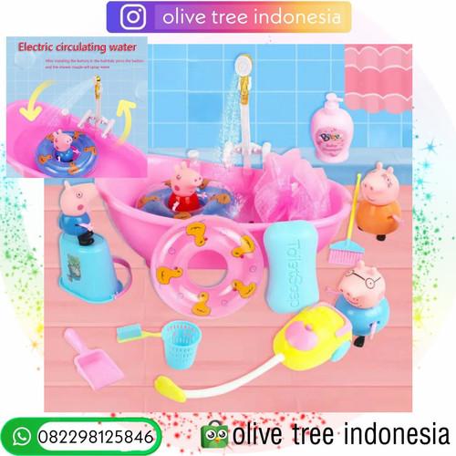 Foto Produk Mainan edukasi Anak Dream House Peppa Pig - Bathroom dari Olive Tree Indonesia