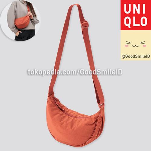 Foto Produk UNIQLO WOMEN TAS BAHU MINI ROUND SELEMPANG SLING BAG WAIST BAG JASTIP - ORANGE dari Good Smile ID