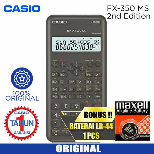 Foto Produk Kalkulator Casio FX 350 MS Plus dari Sinarmutiara Online