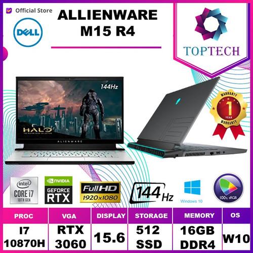 Foto Produk DELL ALIENWARE M15 R4 i7-10870H RTX3060 16GB 512ssd W10 15.6FHD 144Hz dari Top Tech