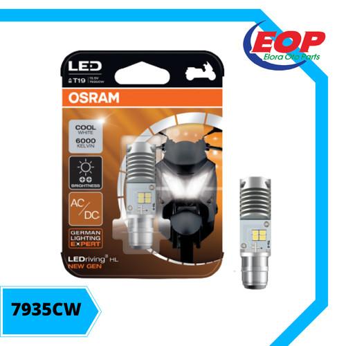 Foto Produk OSRAM LED T19 M5 K1 lampu utama motor H6 PUTIH AC/DC- Plug n Play dari Elora Oto Parts