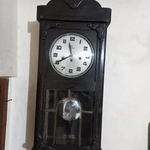 Foto Produk Junghans 3 Ding Wall Clock - Jam Dinding Klasik Junghans 3 lubang dari KamehaShop.com