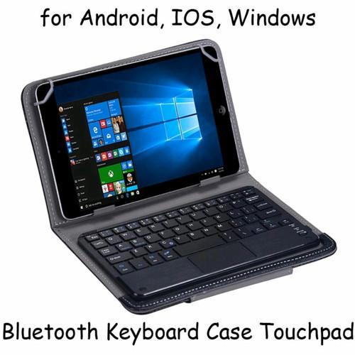 Foto Produk 100% original Bluetooth Keyboard case Touchpad dari Koreanholicshop