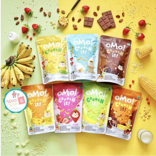 Foto Produk OMO! OMO Crunch It - Omo Healthy Snack Bayi Anak 25 gr - Keju dari Toko Susu Mom n Kids