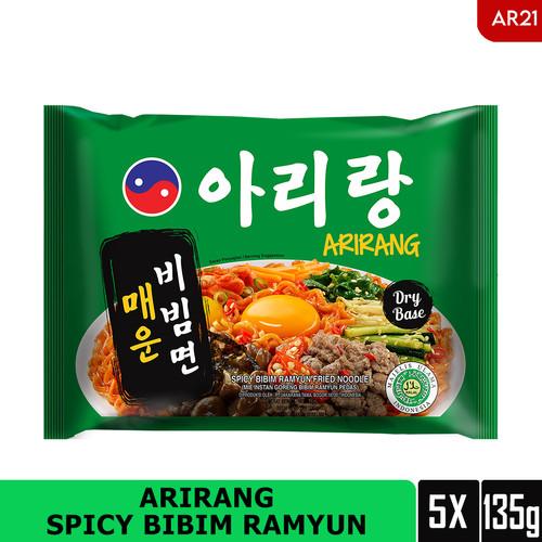 Foto Produk ARIRANG SPICY BIBIM RAMYUN 135g Beli 3 pcs FREE 2 pcs (AR21) dari Arirang Official Store
