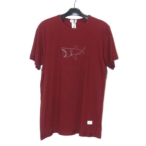 Foto Produk Kaos / Tshirt GIGG Shark Maroon Original Local Brand dari WYLSTORE