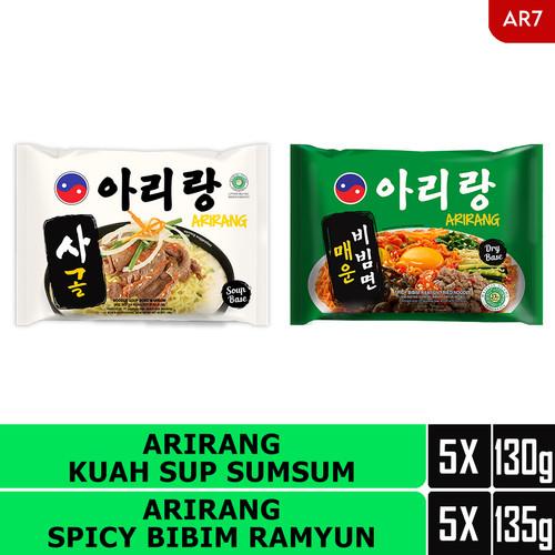 Foto Produk ARIRANG KUAH SUP SUMSUM 5pcs, ARIRANG SPICY BIMBIM RAMYUN 5pcs (AR7) dari Arirang Official Store