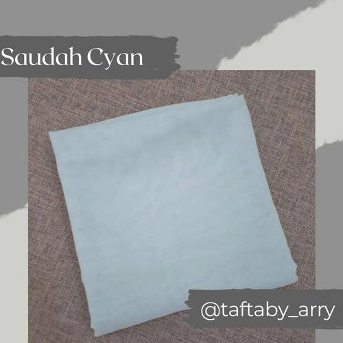 Foto Produk ¤ Saudah 115 CM x 115 CM ¤ - Cyan dari Tafta By Arry