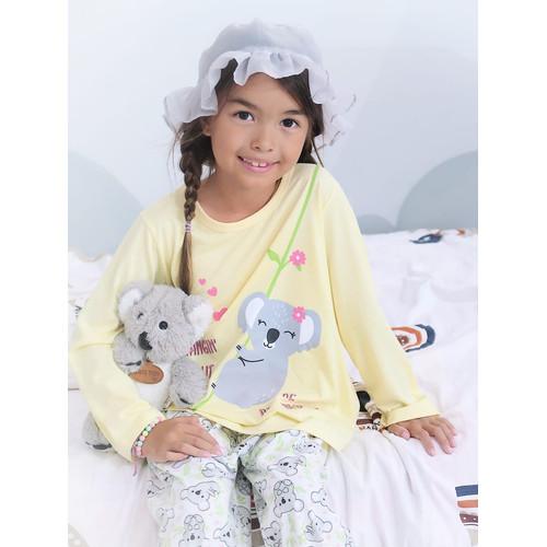 Foto Produk Piyama Anak Long Shirts Hanging Out Koala LSLP121 - 4 dari Boboo Kids