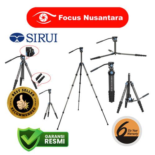 Foto Produk SIRUI ST-125 Carbon Fiber 5-Sections + VA-5 Ultra-Compact Video Head dari Focus Nusantara