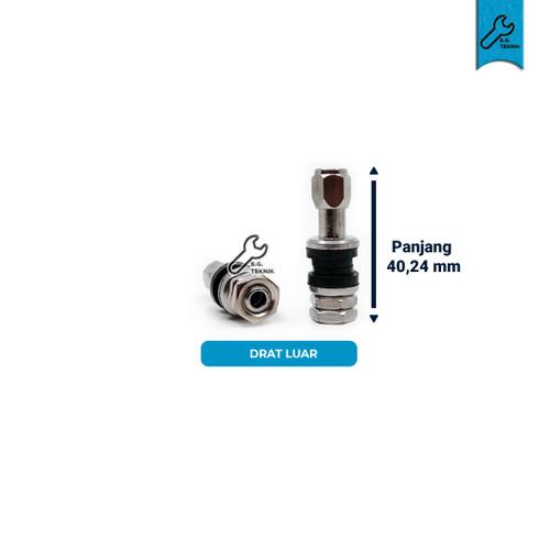 Foto Produk Pentil Pendek Tubeless motor (Drat Dalam/ Drat Luar) - Drat Dalam dari Bang teknik